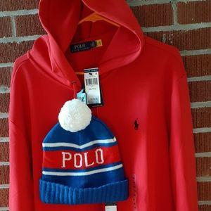 🐎New)XXL Ralph Lauren Polo Hoodie/Sweatshirt